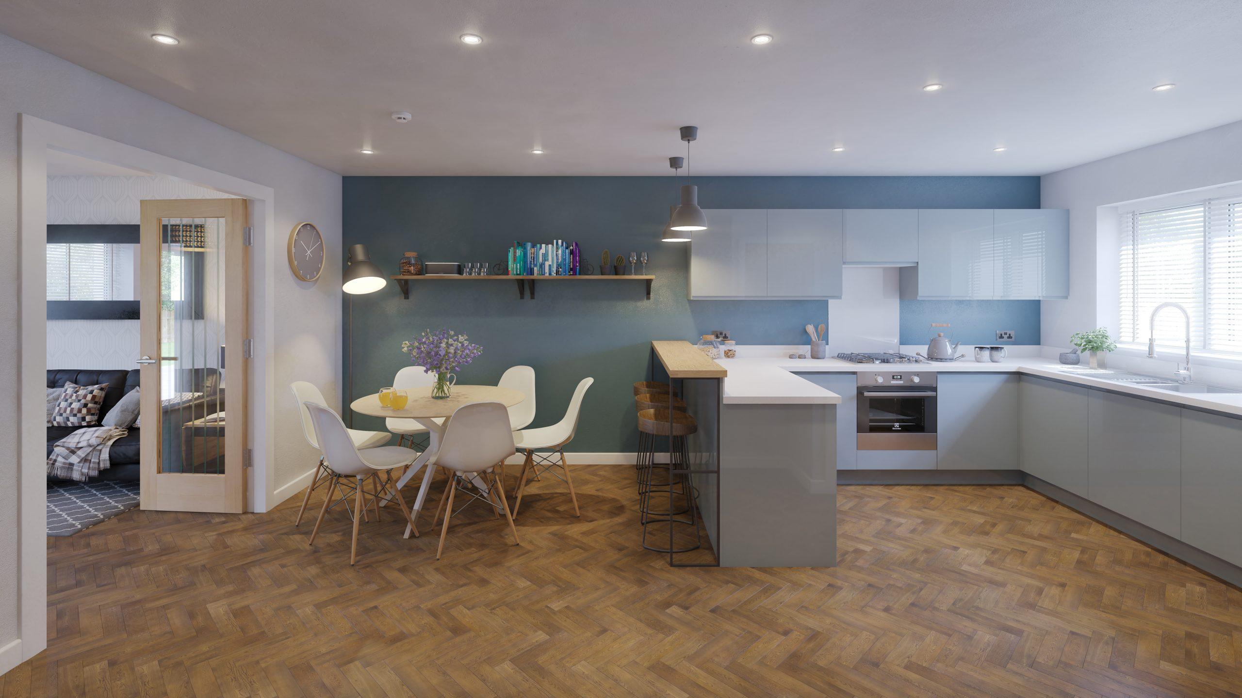 FOR House Type A_Kitchen-Diner_v1